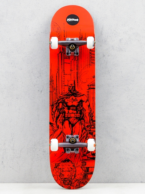 Almost Skateboard Jim Lee Batman Resin Pre (red)