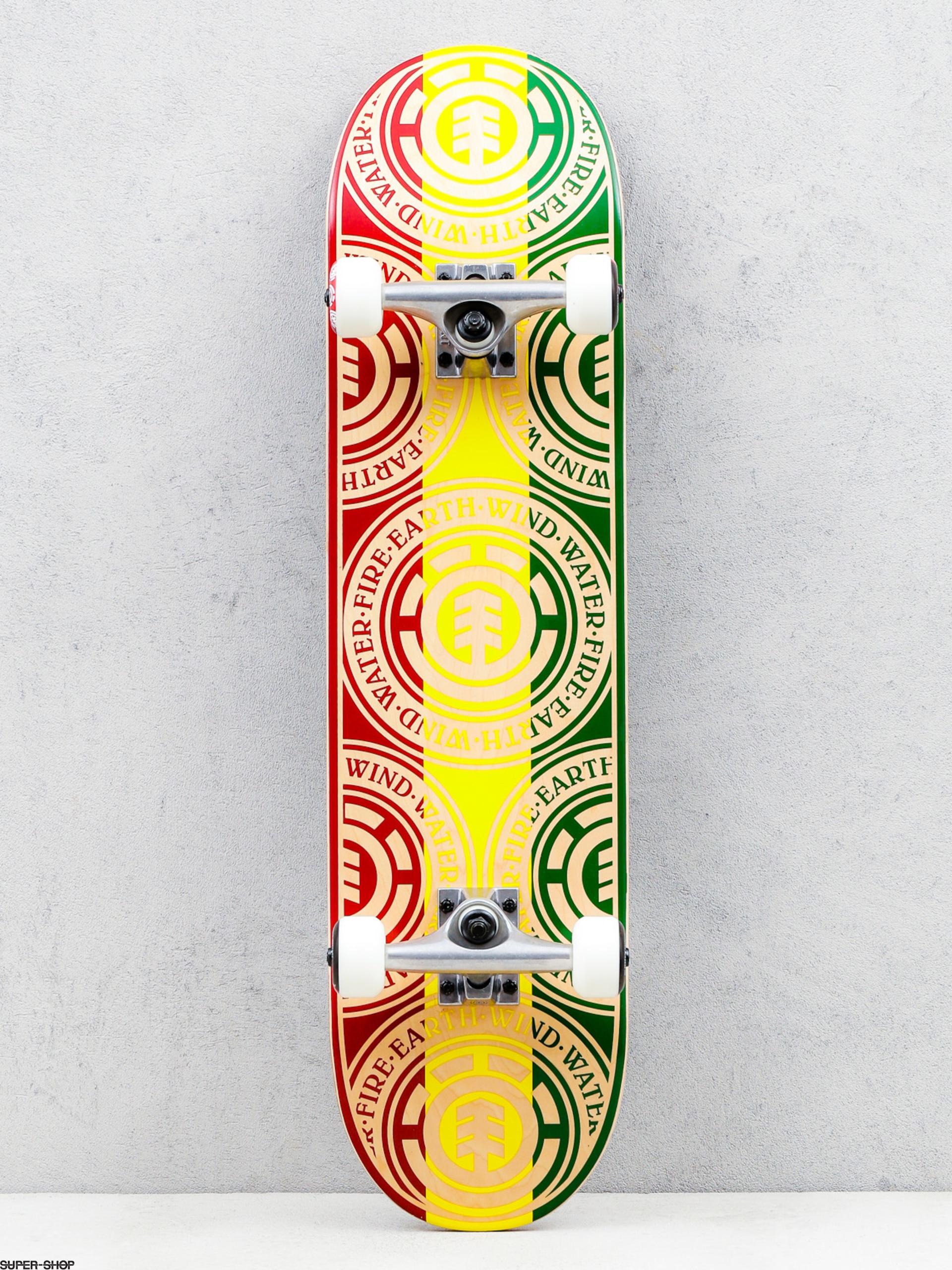 Skateboard Element Rasta Seal