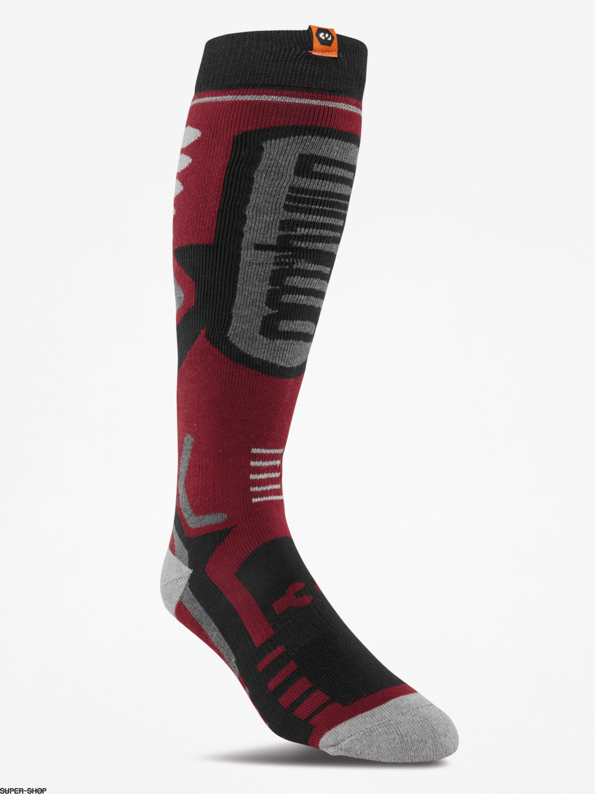 ThirtyTwo Socks Performance (oxblood)