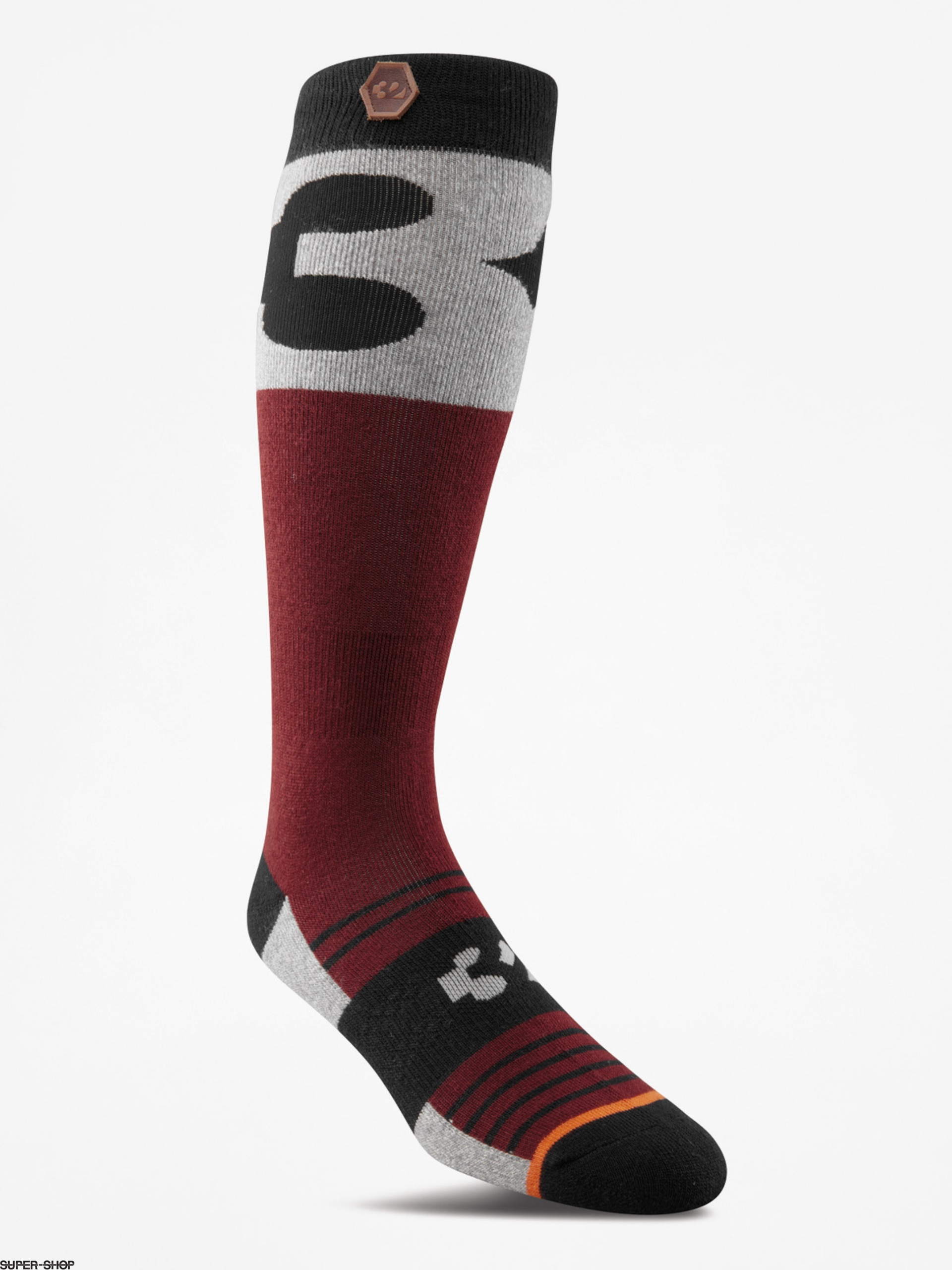 ThirtyTwo Socks Corp (oxblood)