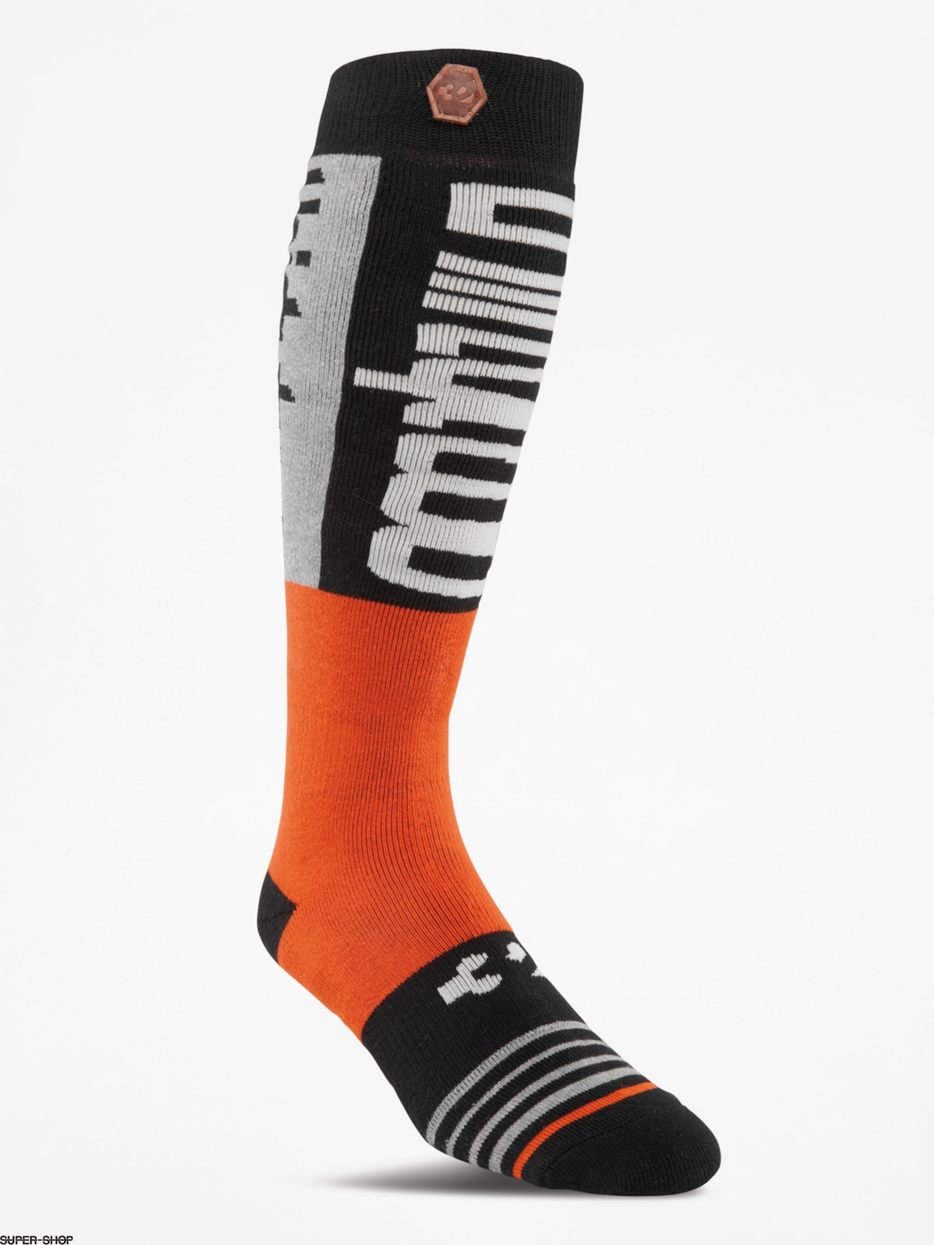 ThirtyTwo Socks Double (burnt orange)
