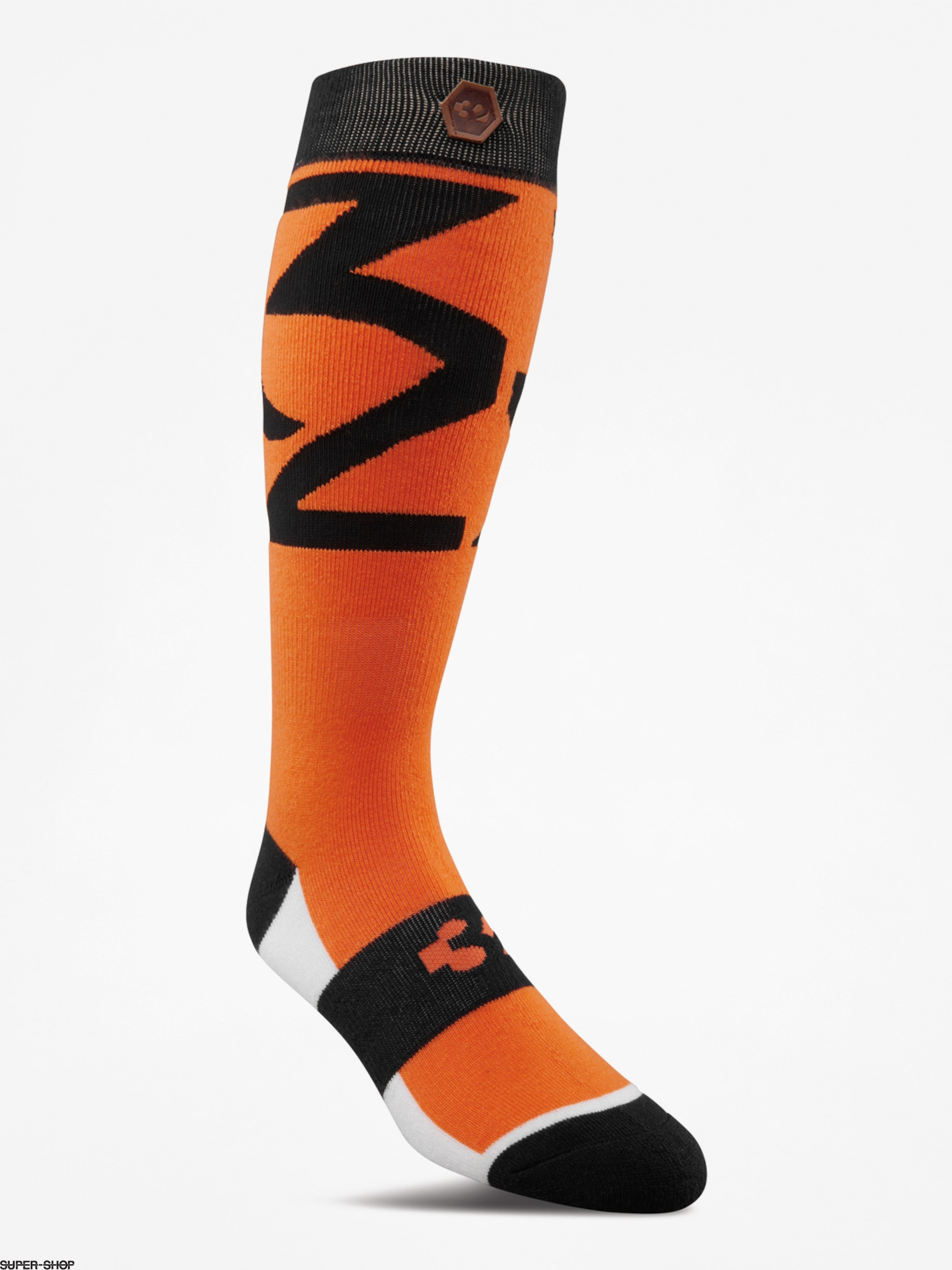 ThirtyTwo Socks Lashed (orange)