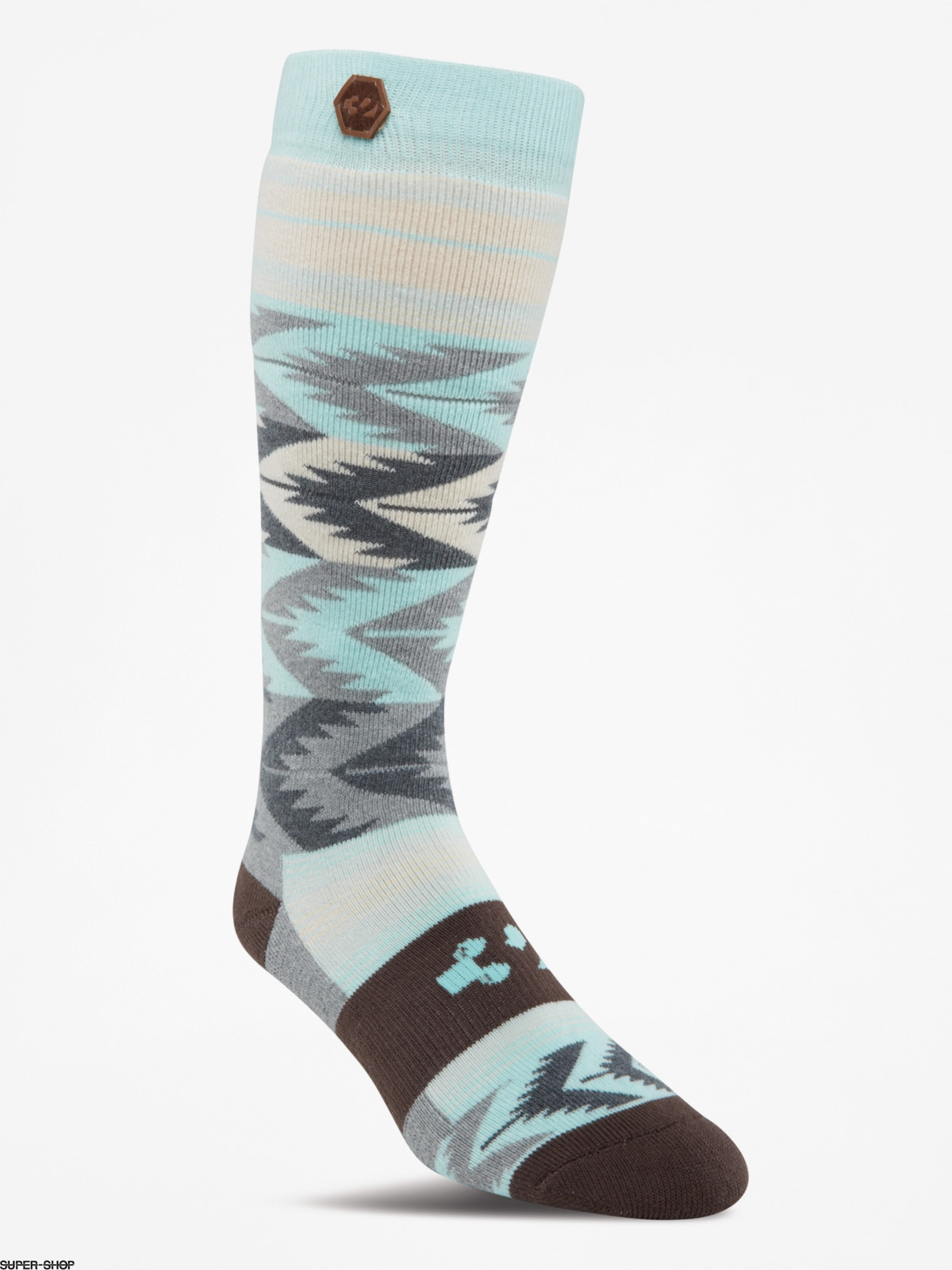 ThirtyTwo Socks Womens Himalaya Wmn (charcoal/heather)