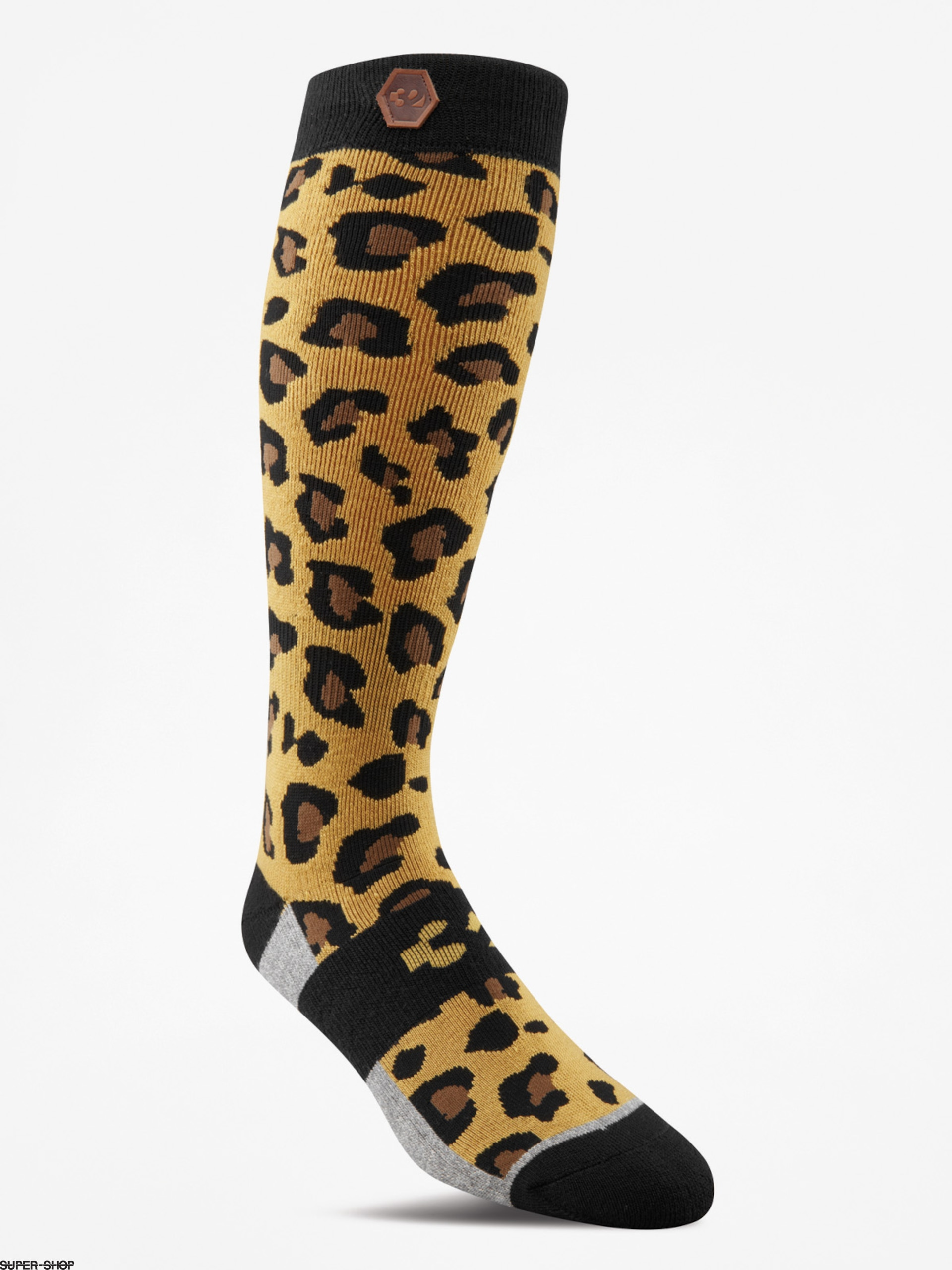 ThirtyTwo Socks Womens Cheetah Wmn (gold)