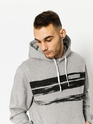 MassDnm Hoodie Traces HD (light heather grey)