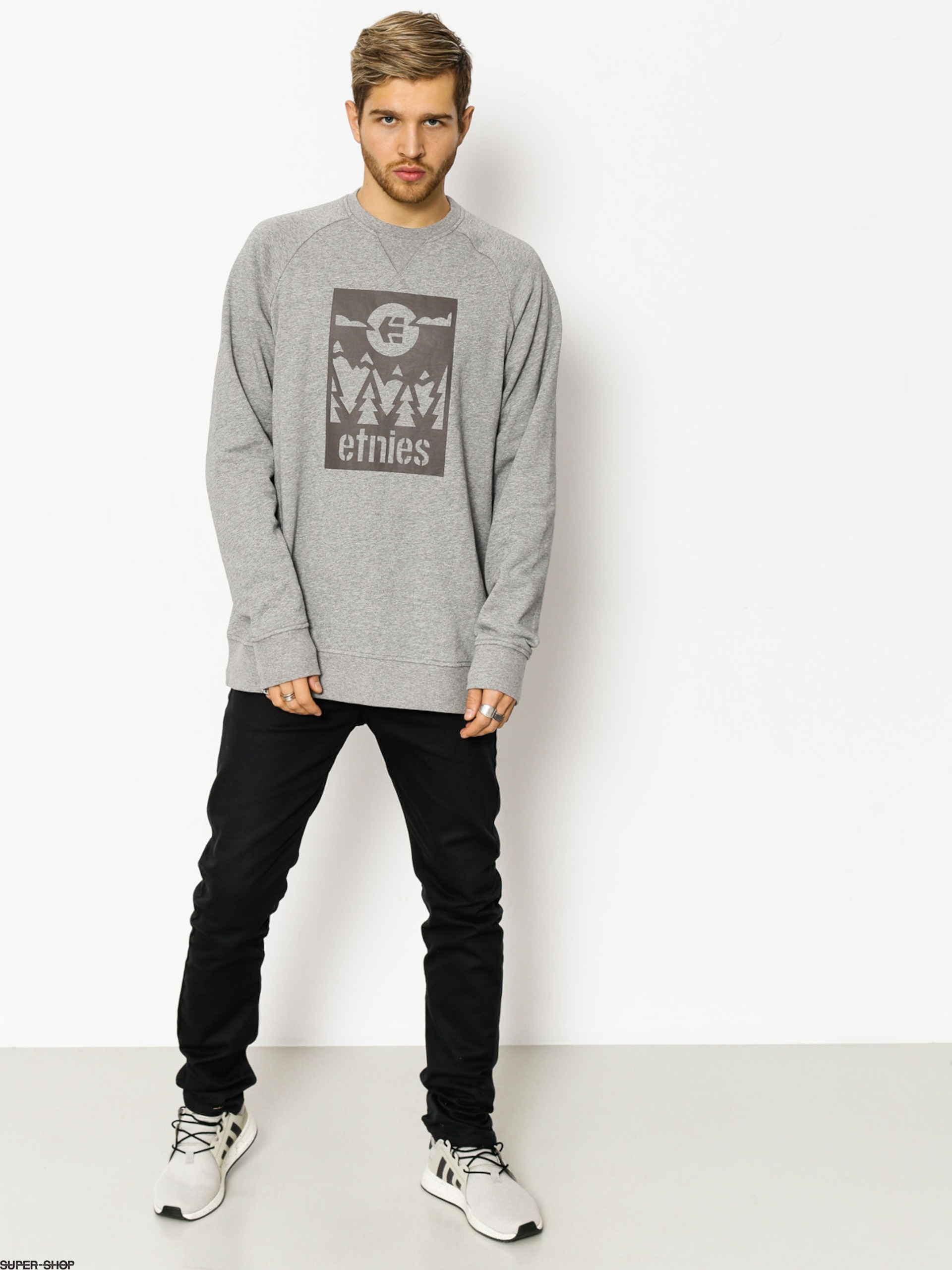 Etnies Sweatshirt Sano Crew (grey/heather)
