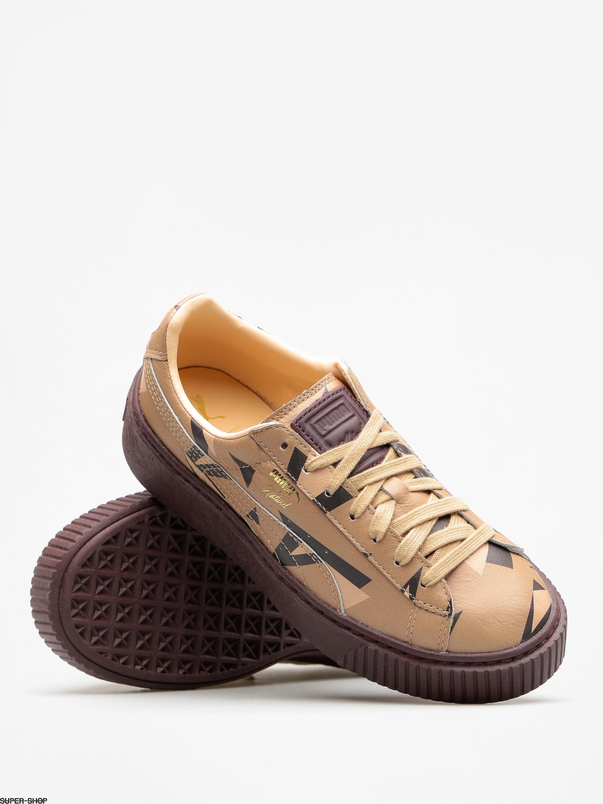 Puma Schuhe Platform Cheetah Wns Naturel Wmn (natural vachettawinetasting)