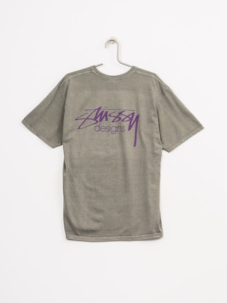 Stussy T-shirt Designs Pig Dyed (grey)