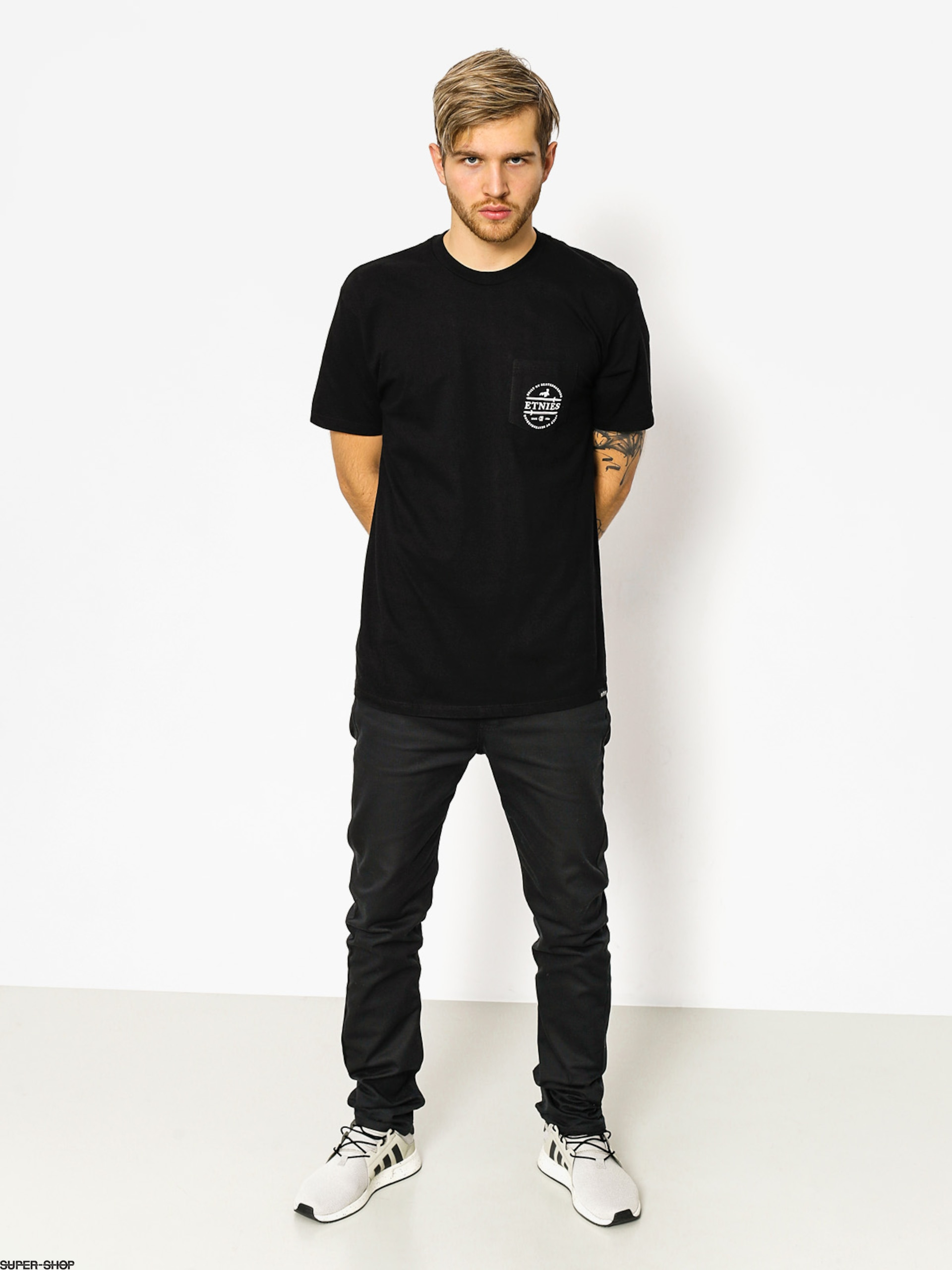 Etnies T-shirt Sword Seal Pocket (black)