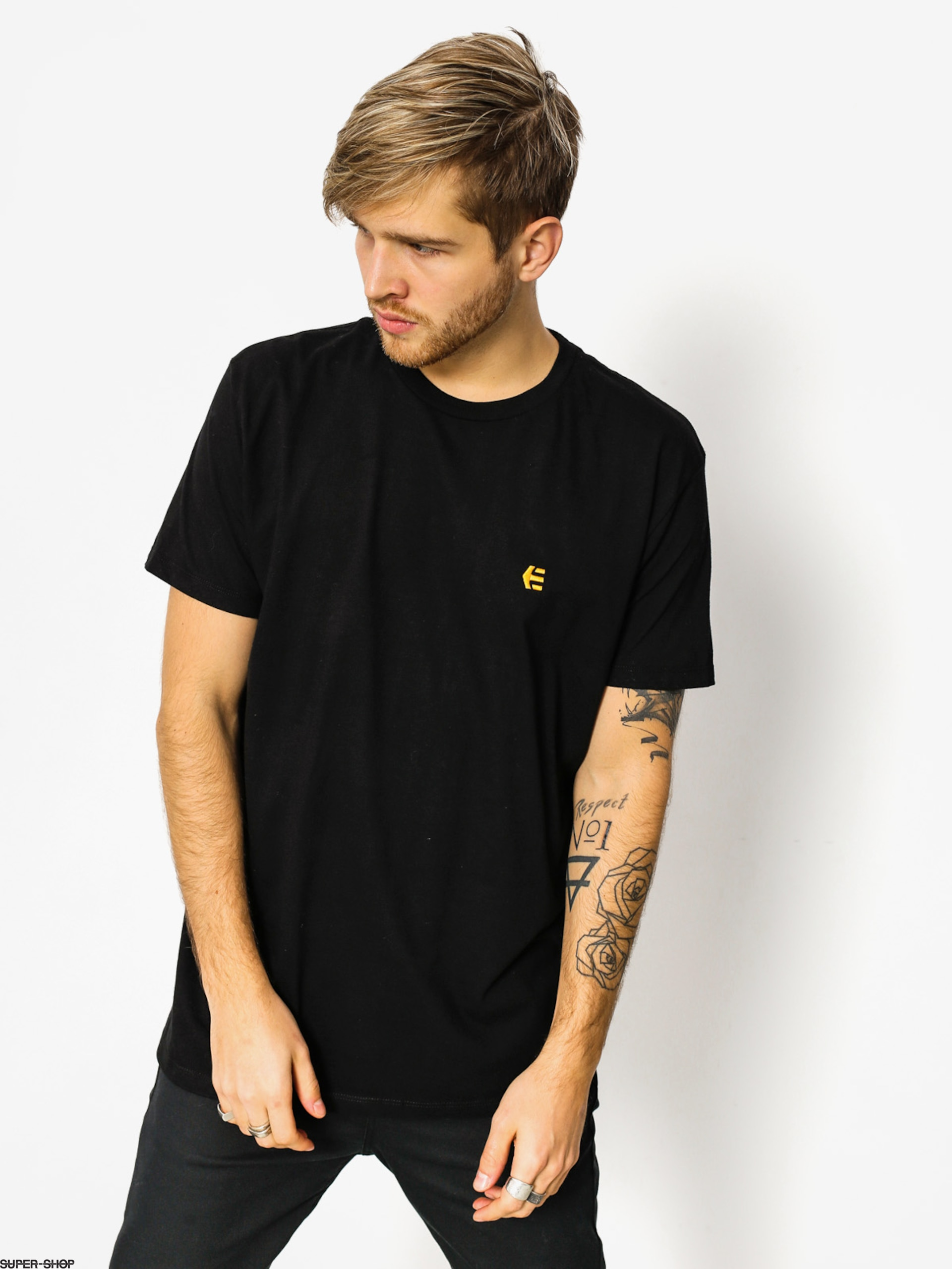 Etnies T-shirt Icon Embroidery (black)