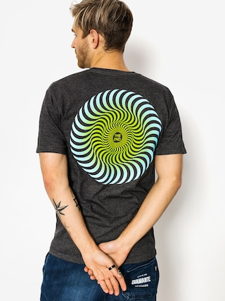 Spitfire T-shirt Classic Swirl Fade (charcoal)