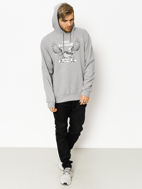 Circa Hoodie Stay True HD (athletic grey)