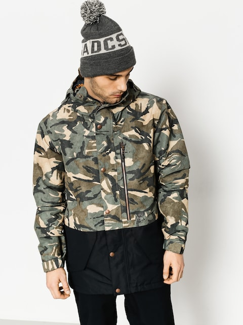 DC Snowboard jacket Outlier (woodland camo)