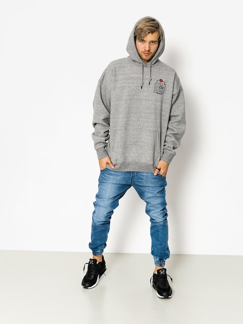 K1x Hoodie Love Is For After HD (grey heather)