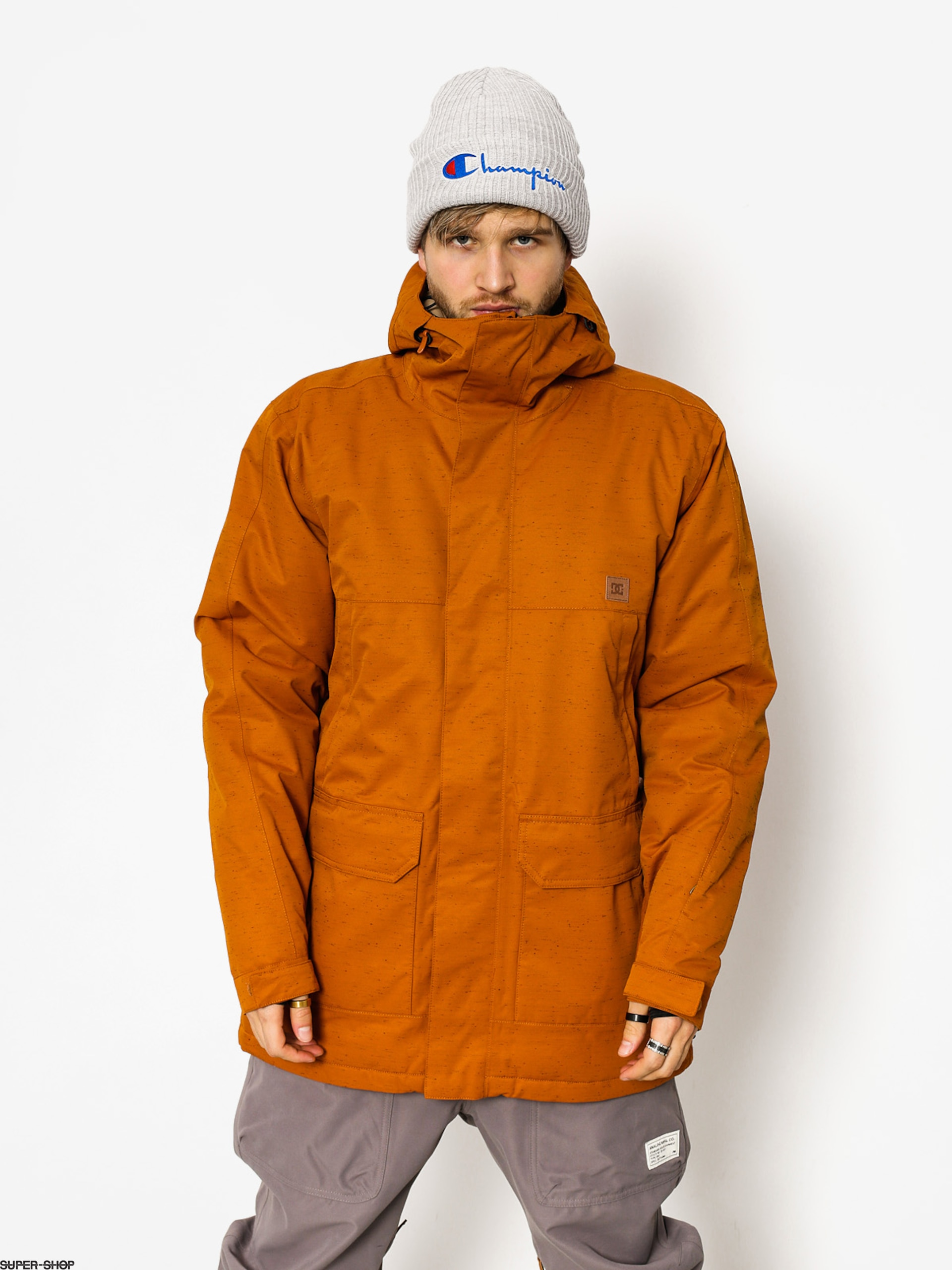 DC Snowboardjacke Harbor (leather brown)
