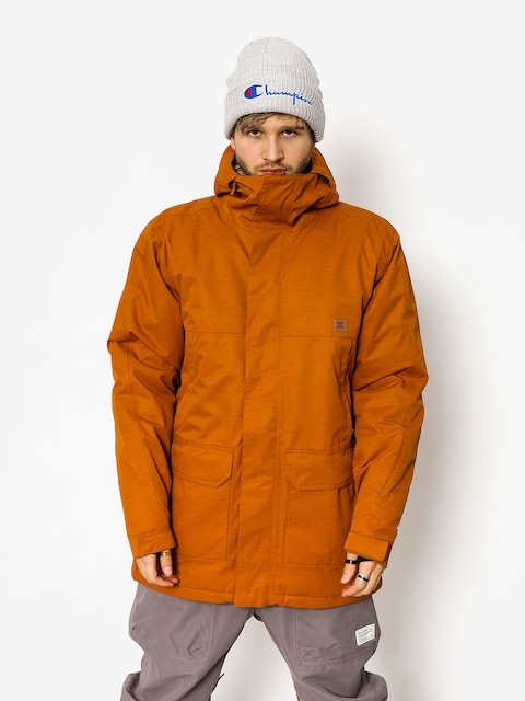DC Snowboard jacket Harbor (leather brown)