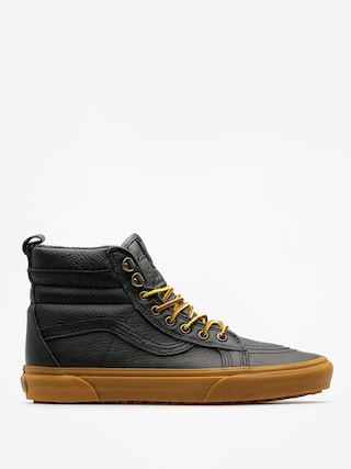 Vans Shoes Sk8 Hi Mte (mte/black/leather/gum)