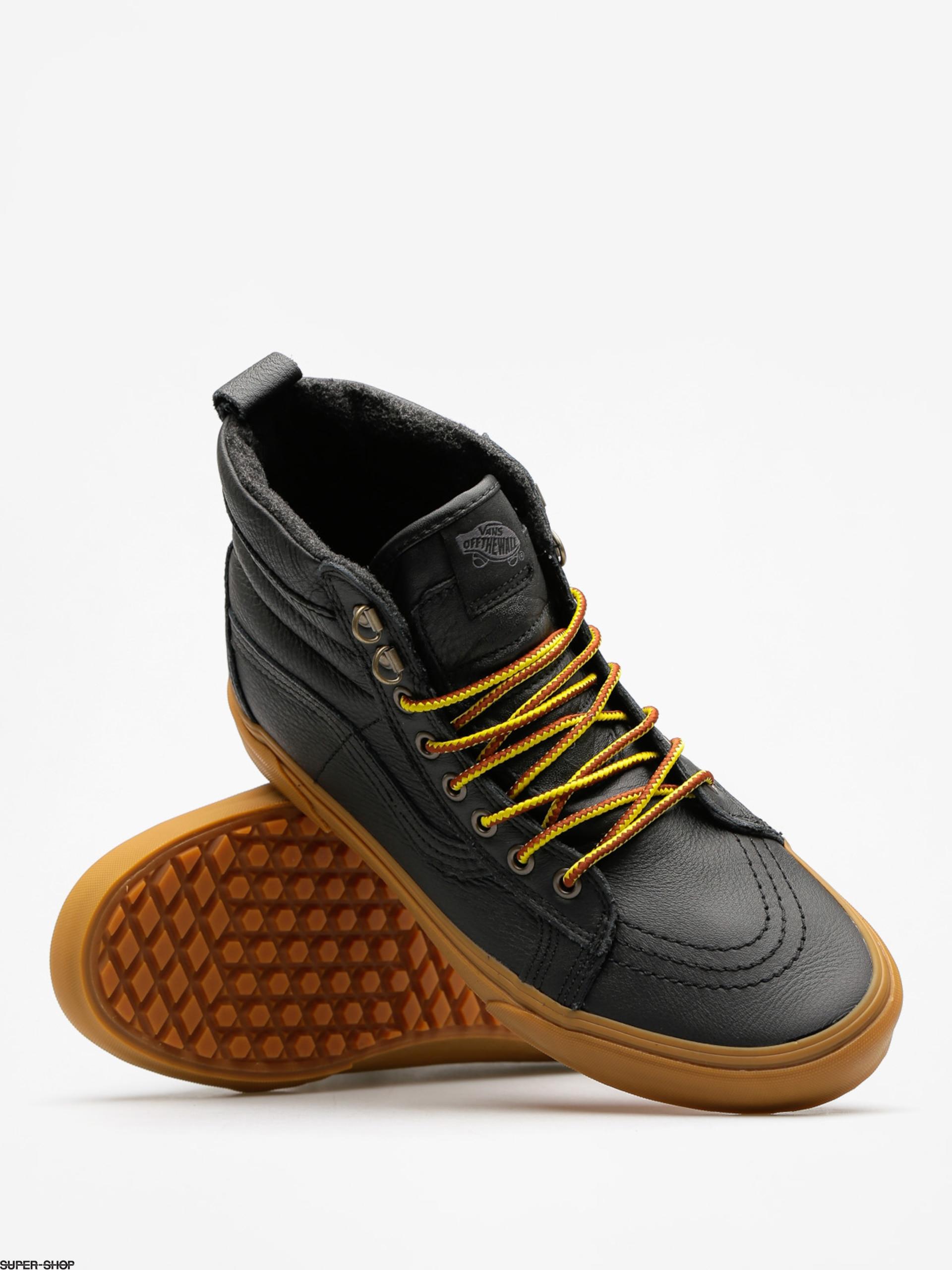 a169423b56382a Vans Shoes Sk8 Hi Mte (mte black leather gum)