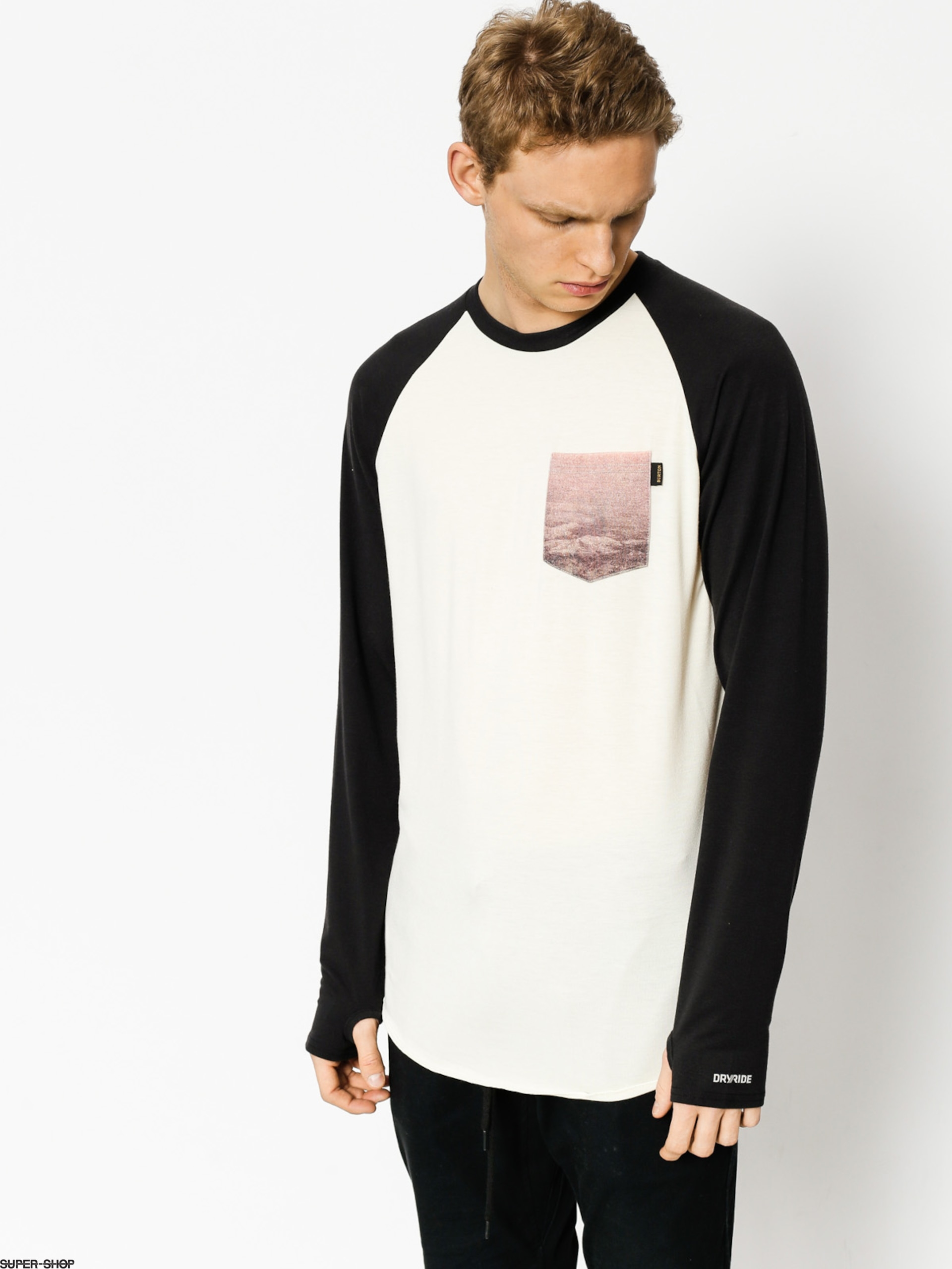 Burton Active longsleeve Roadie Tech T (smoke rings)