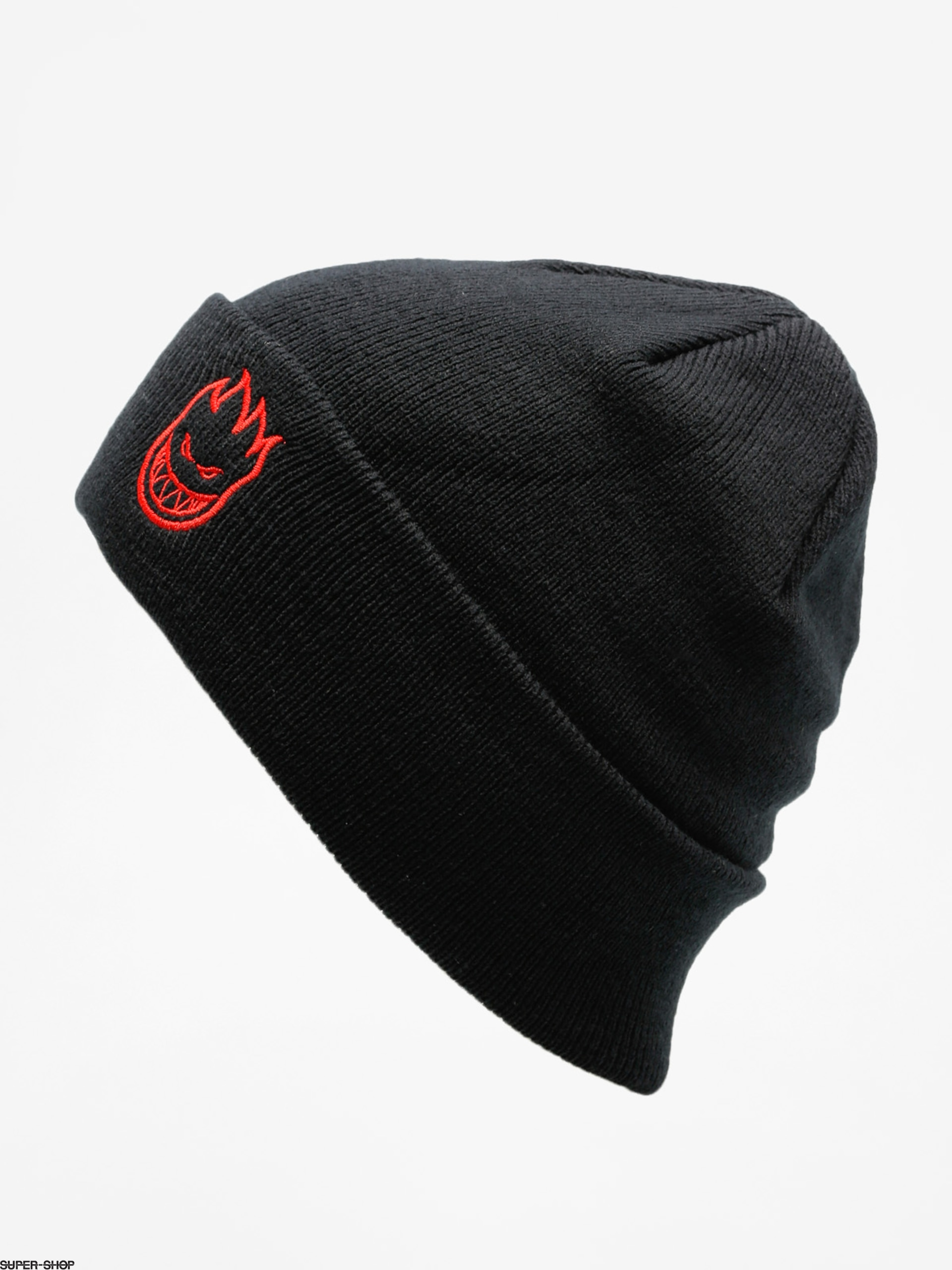 45672ad4f Spitfire Beanie Beanie Big Head Emb (black/red)
