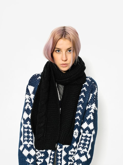 Element Scarf Feather Top Scarf Wmn (black)