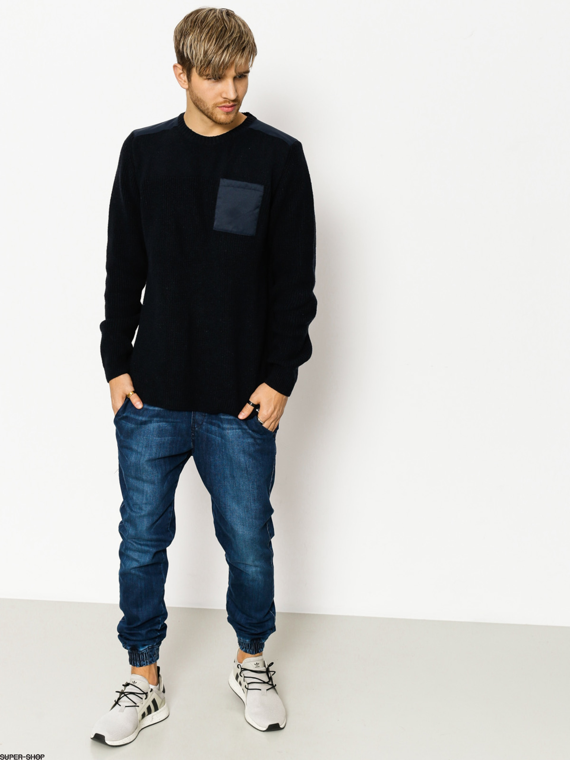 Element Sweater Coltin (eclipse navy)