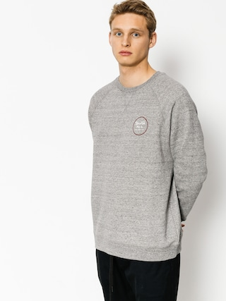 Brixton Sweatshirt Wheeler (heather grey/brick)
