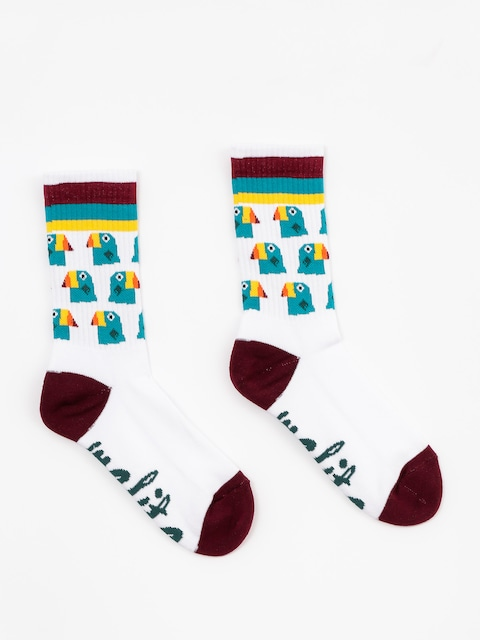 Malita Socks Toucans (white)