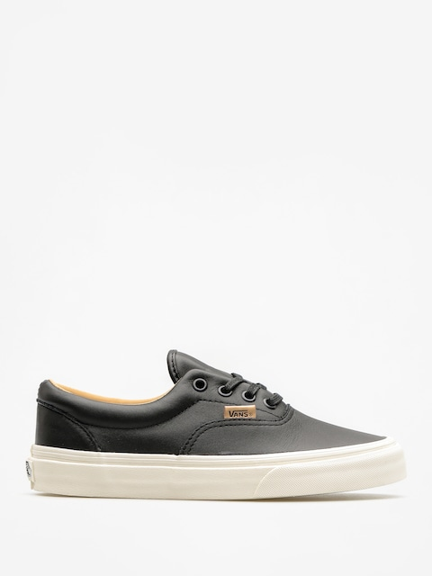Vans Shoes Era (lux leather/black/porcini)