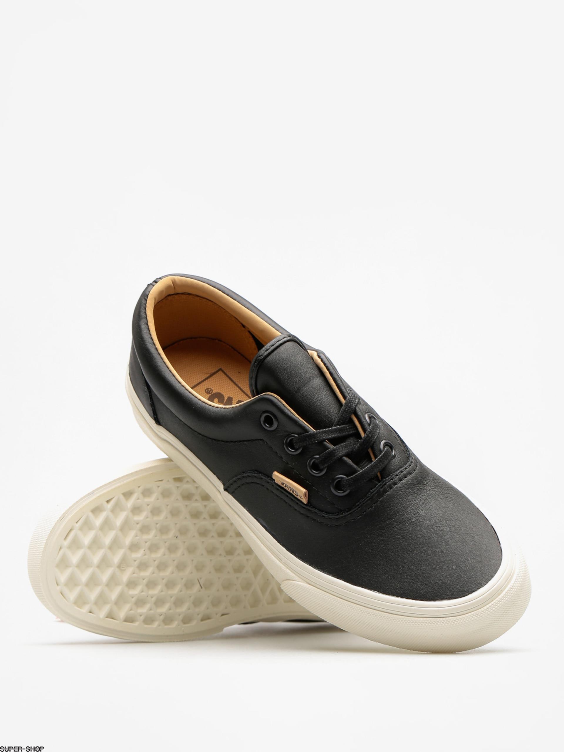 VANS Era In Lux Leather BlackPorcini