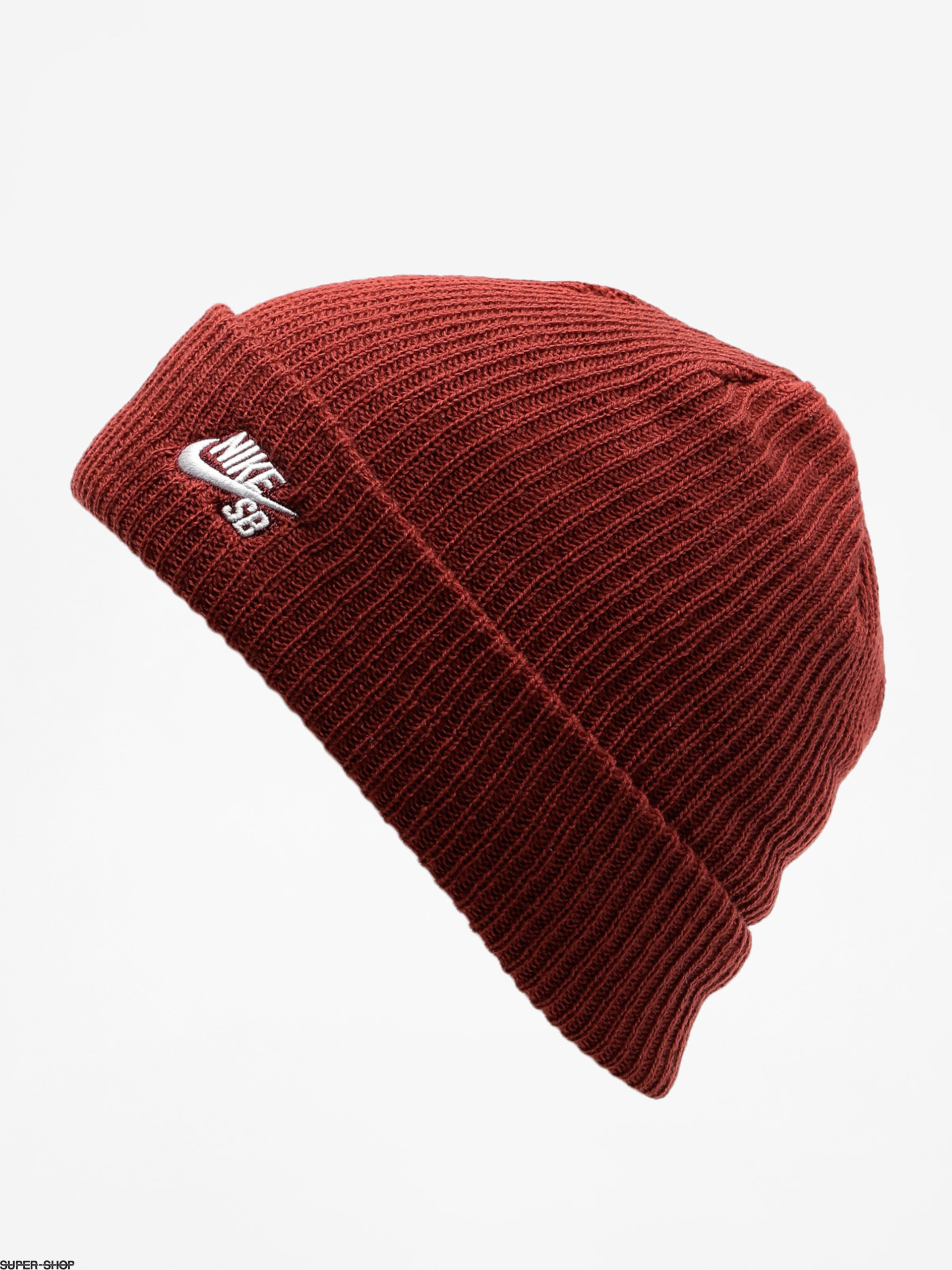 1c76d3bf975 Nike SB Beanie Sb Fisherman Beanie (dark team red white)