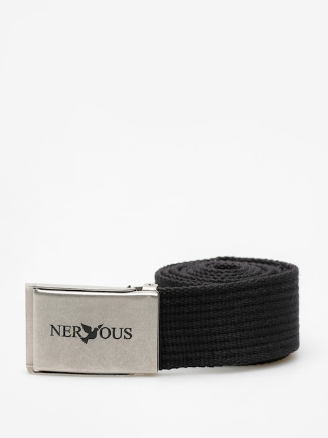 Nervous Belt Classic (black/silver)