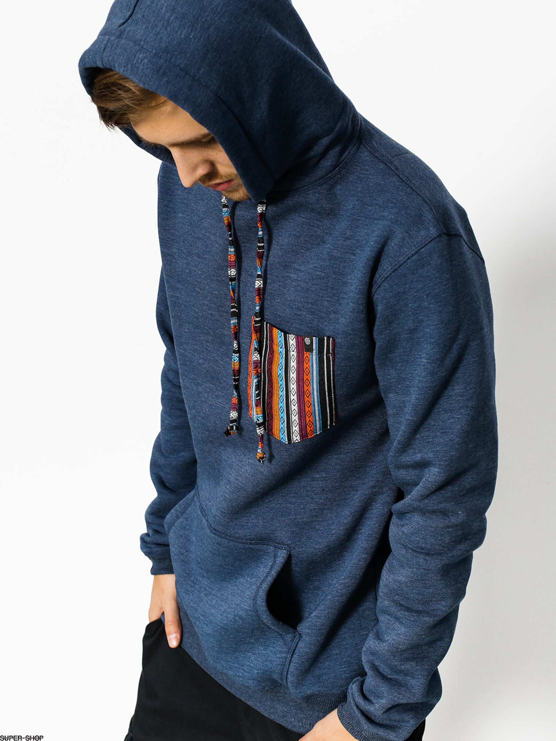 Malita Hoody Aztek Pocket HD