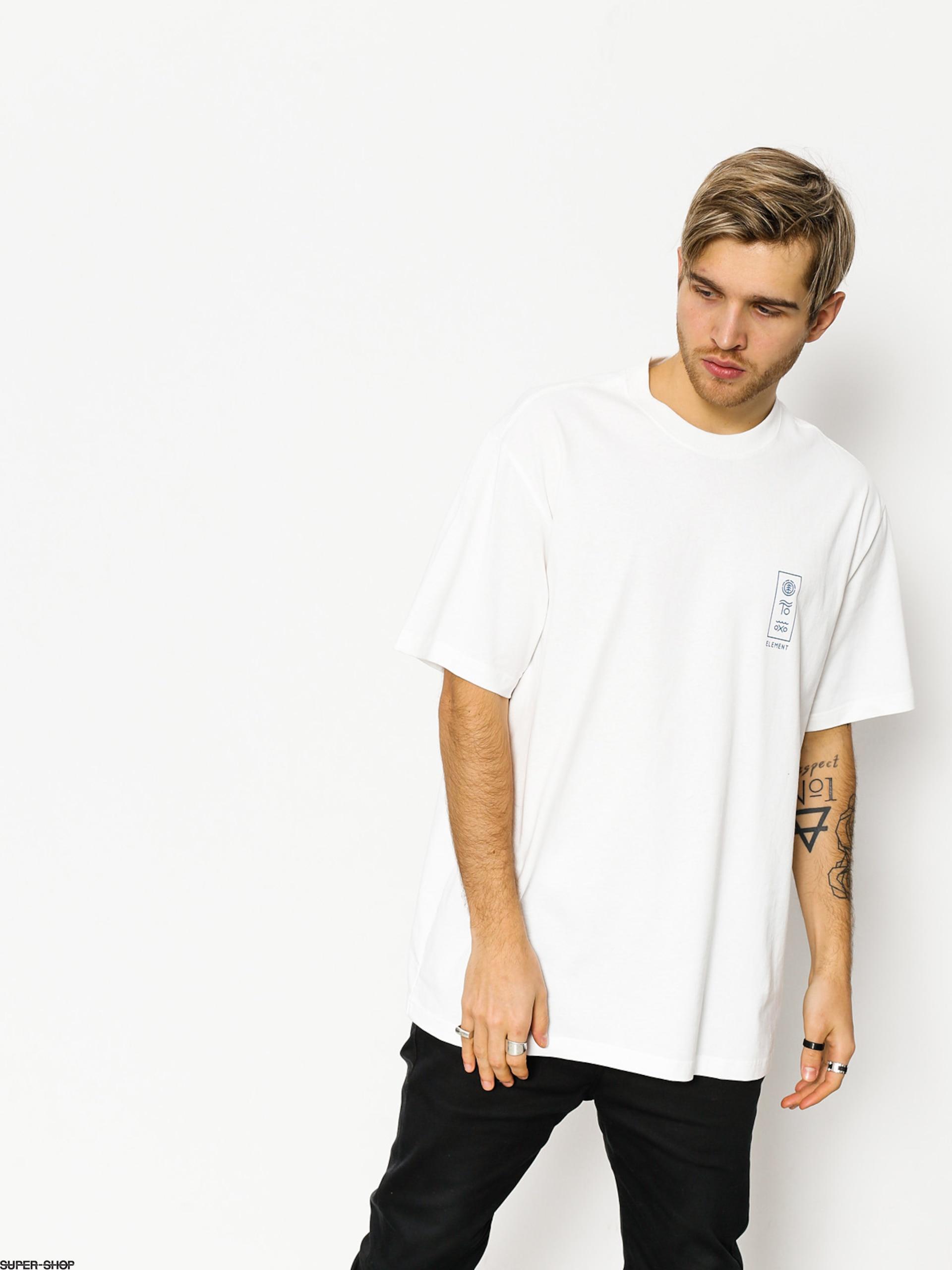 Element T-shirt Cipher (optic white)