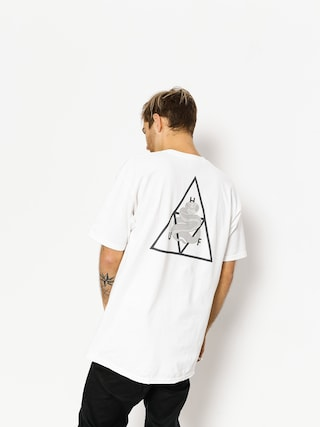 HUF T-shirt Ambush Triple Triangle (white)