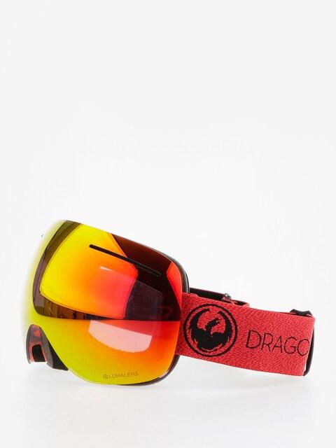 Dragon Goggles X1 (mill/lumalens red ion/l rose)