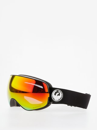 Dragon Goggles X2s (black/lumalens red ion/l rose)