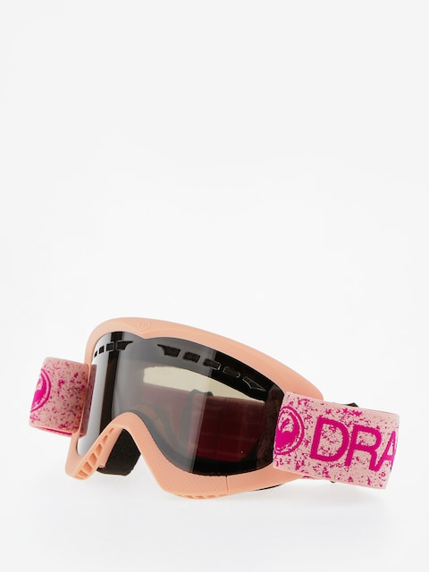 Dragon Goggles DXS (pink/dark smoke)
