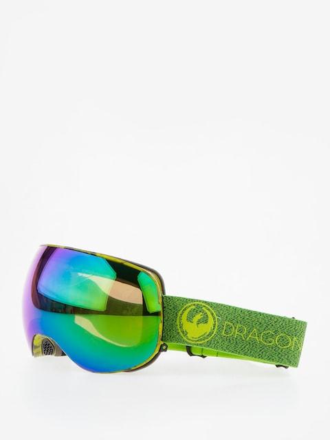 Dragon Goggles X2 (mill/lumalens green ion/l amber)
