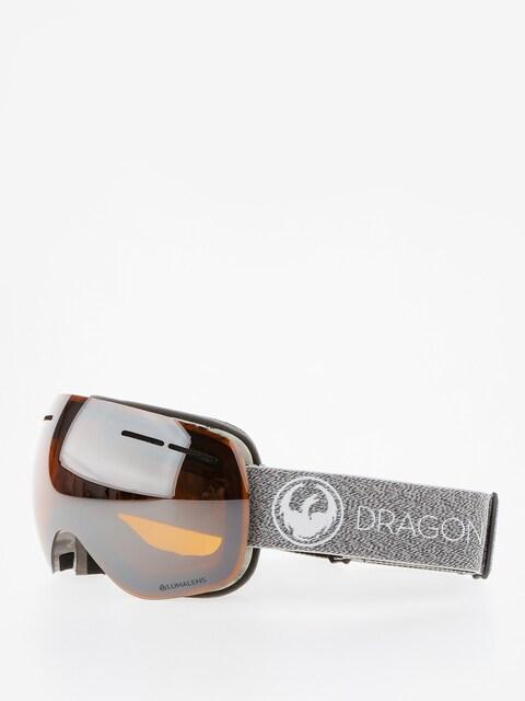 Dragon Goggle X1s (mill/lumalens silver ion/dark smoke)