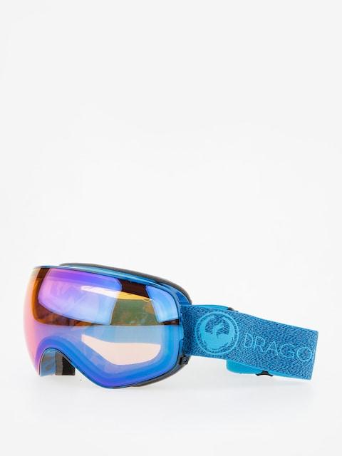 Dragon Goggle X2s (mill/lumalens blue ion/l amber)