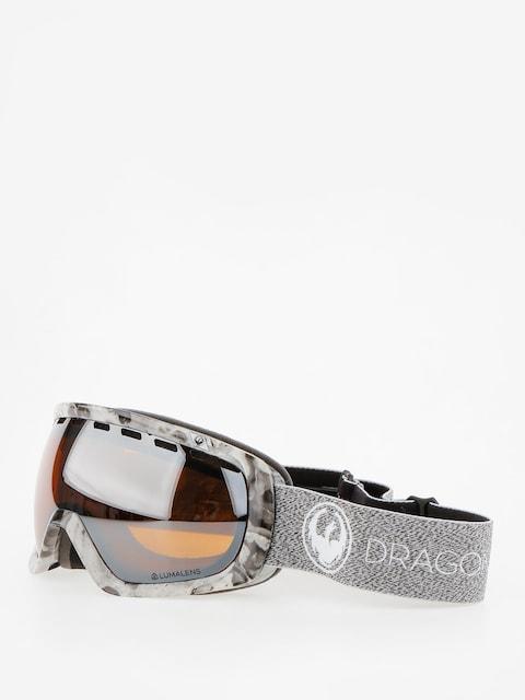 Dragon Goggles Rouge (mill/lumalens silver ion/dark smoke)