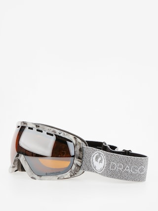 Dragon Goggles Rouge (mill/lumalens silver ion/dark smoke)