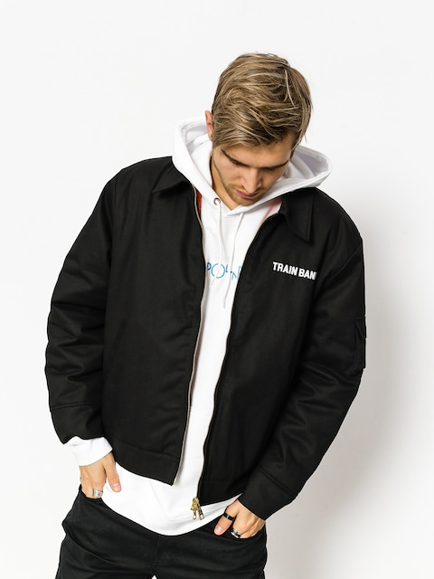 Polar Skate Jacket Train Banks (black)
