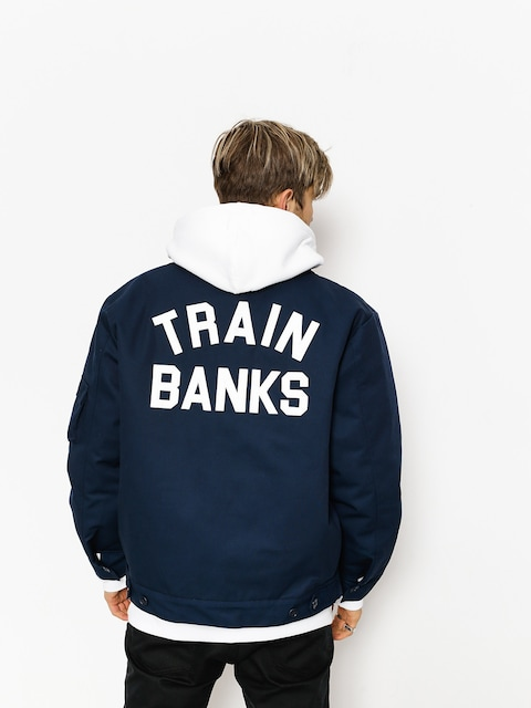 Polar Skate Jacket Train Banks (navy)