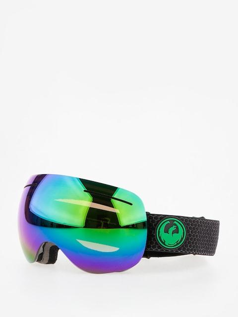 Dragon Goggle X1 (split/lumalens green ion/l amber)