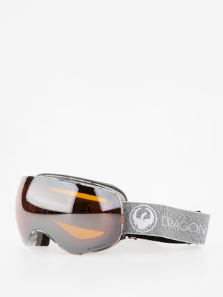 Dragon Goggles X2s (mill/lumalens silver ion/dark smoke)