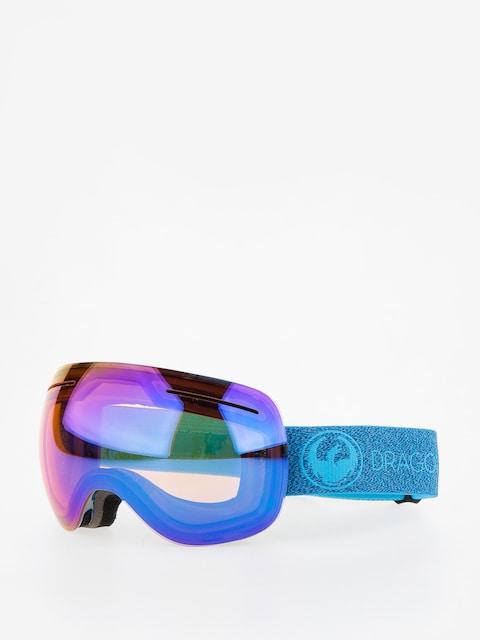 Dragon Goggle X1 (mill/lumalens blue ion/l amber)