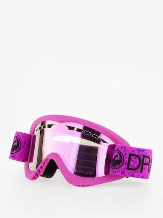 Dragon Goggles DXS (violet/lumalnes pink ion)