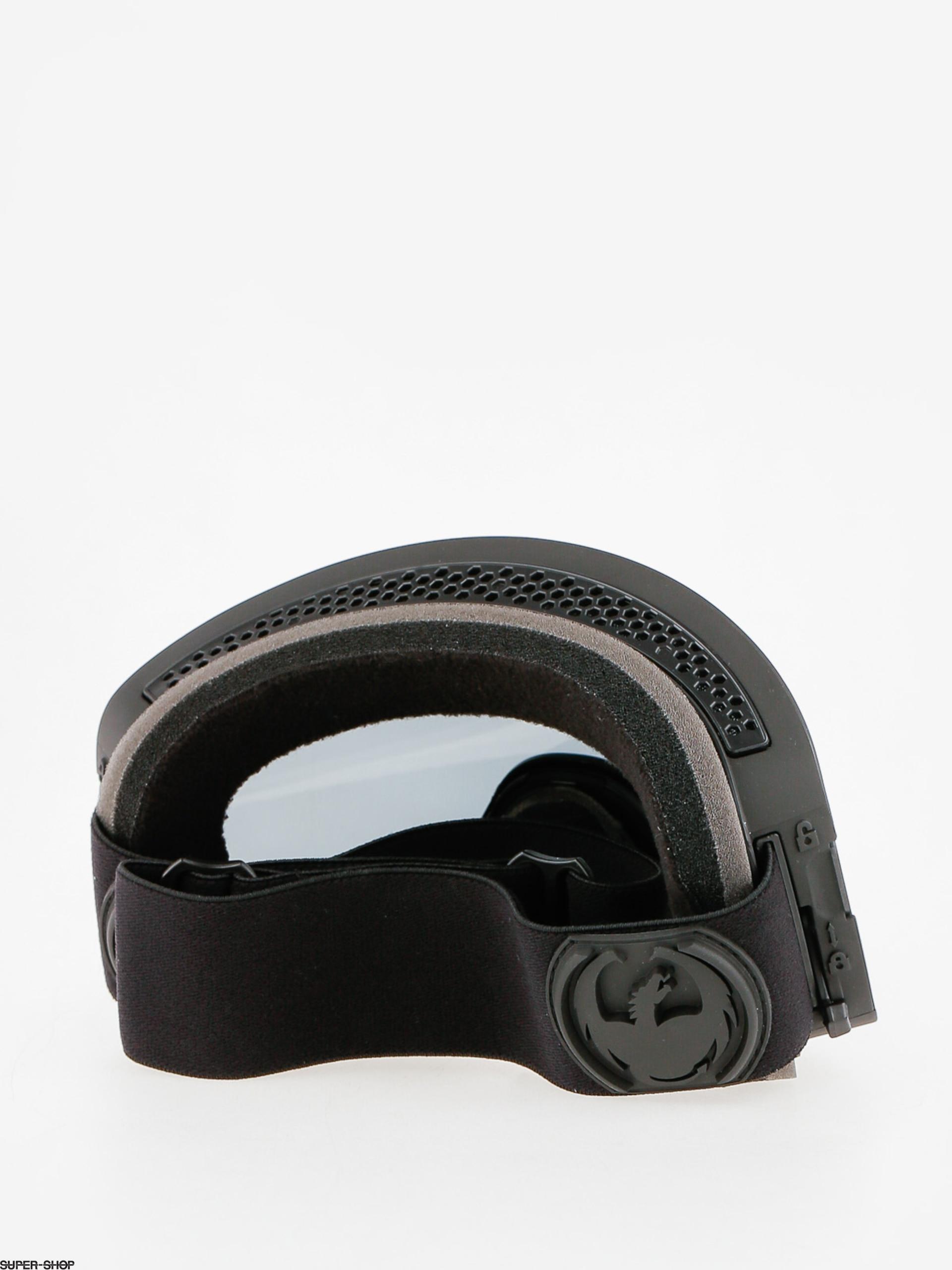 Dragon Goggles NFX2 (knight rider/dark smoke/l flash blue l rose)